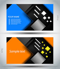 business card template free vector in adobe illustrator ai ai