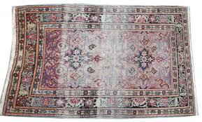 tappeto aubusson tapis ancien persan kerman 100x152 cm tapis d orient
