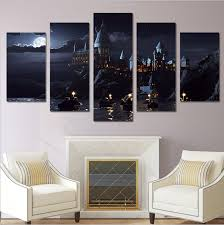 Harry Potter Home Harry Potter Castle Hogwarts Home Office Decor Wall