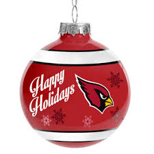 arizona cardinals decorations gift bags ornaments