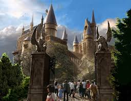 images of the exterior of hogwarts sc