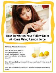 4 ways how to whiten your yellow nails at home amazingnailart org