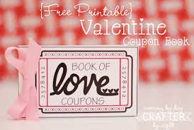 mommy by day crafter by night free printable valentine coupon book