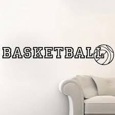 Wall Art Stickers And Decals by Online Shop Basketball Ball Basket Sport Gym Wall Art Sticker