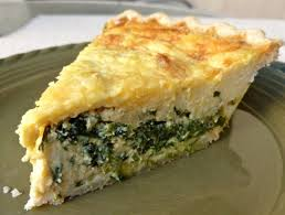 Spinach Quiche With Cottage Cheese by Slice Of Spinach Quiche W Weight Watchers Points Plus Points