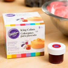 wilton 601 5577 8 pack of 5 oz gel food colors 8 pack