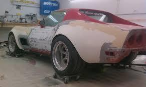 c3 corvette drag car with jeff williams capitol city corvette