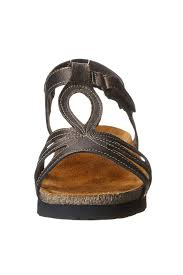 naot rachel cork footbed sandal from branford by shoetique