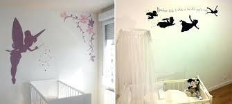 fresque murale chambre bébé peinture mur chambre bebe dacco pochoir mural chambre bacbac