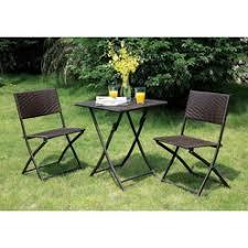 wicker folding chair