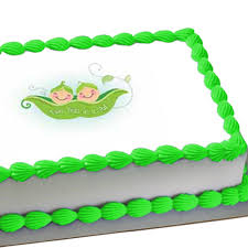 edible images for cakes two peas in a pod edible image cake decoration