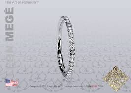 1 5 mm wedding band r6142 mege le coeur 1 5mm diamond wedding band