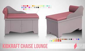 Kids Chaise Lounge Kid Kraft Chaise Lounge Onyx Sims