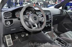 2015 vw golf gti clubsport dashboard at iaa 2015 indian autos blog