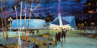 Pavilion Concept Concept Art For Imagination Pavilion Epcot 1981 Epcot Walt