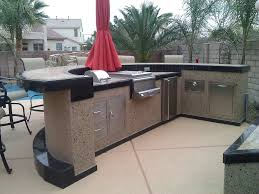 Kitchen Island Red Outdoor Breathtaking Outdoor Kitchen Island Completed With Meat