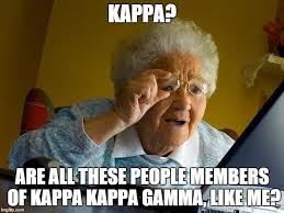 Meme Kappa - grandma finds the internet meme imgflip
