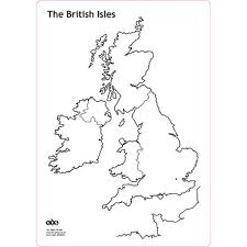 Map Of The British Isles Buy British Isles Whiteboard Set A4 Tts