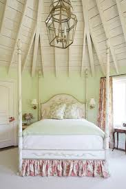 bed skirts bedroom shabby chic with four poster bed bedroom chandelier