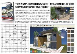 Home Design Download Software 3d Isbu Shipping Container Home Design Software Shipping