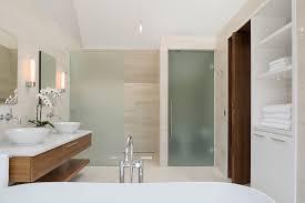 bathroom enchanting floating mirror ideas rectangle brown light