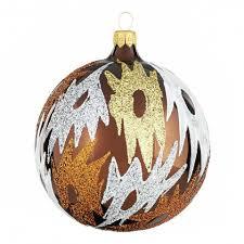 große weihnachtskugeln glas afrika motiv 10 cm 6 stück shop