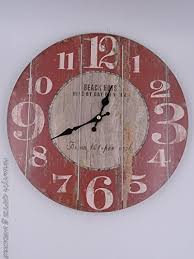 rustic wall clock the rustic clock