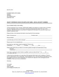 reference check letter template u0026 sample form biztree com