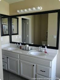 Bathroom Mirror Frame Kit Bathroom Mirror Frame Home Decorating Trends Unique Bathroom
