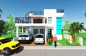Modern Zen 2 Storey House Design with Roof Deck  BEST HOUSE PLANS