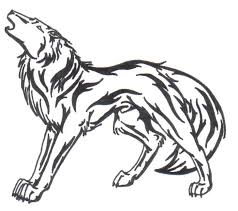 howling wolf tattoo by doomwing on deviantart