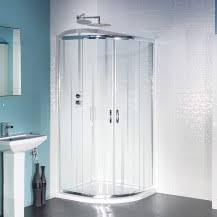 corner showers quadrant shower enclosures large and small