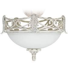 leaf ceiling fan with light acanthus leaf etched glass ceiling fan light kit v4314 ls plus