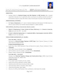 sample electrical engineer resume click here to download this