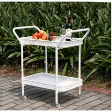 Outdoor Resin Wicker Patio Furniture by White Wicker Resin Outdoor End Tables