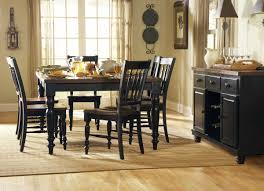 homelegance oxford dining table black cherry 729bk