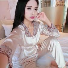 Baju Tidur baju tidur satin pyjamas satin s fashion clothes on carousell