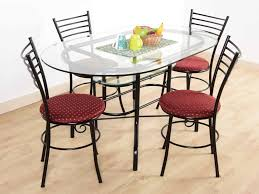 6 Seater Dining Table For Sale In Bangalore Syble Iron Frame 4 Seater Dining Table Set Buy And Sell Used