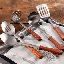 Kitchen Utensils 6 Stainless Steel Kitchen Cooking Utensil Set Serving Tools Server