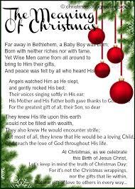 christmas poem about jesus photozzle