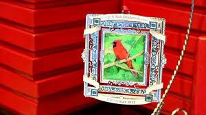 george w bush sells cardinal painting ornament abc news