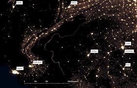 World At Night Map by The World At Night