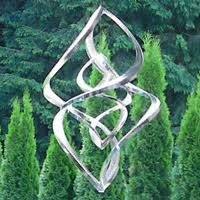 wind ornaments stainless steel wind spinners ribbons and more