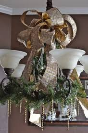 Chandelier Decorating Ideas Top 40 Christmas Chandelier Decoration Ideas Christmas
