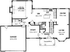 center colonial floor plan center colonial floor plans 6 jpeg 265 480 pinteres