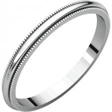 milgrain wedding band milgrain wedding bands rings 14k white gold milgrain wedding bands