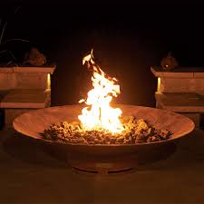 Outdoor Gas Fire Pit Aritisan Mandarin Fire Pit Wood U0026 Gas Fuel