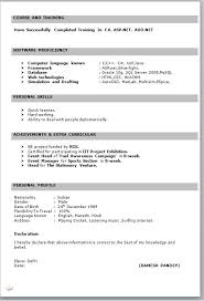 resume format free download in ms word download resume templates