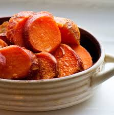 baked vegan sweet potatoes maple cinnamon citrus