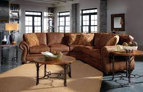 Broyhill Sectional Sofa by Leather Sofa Broyhill Sofa Leather And Fabric Raphael 6636